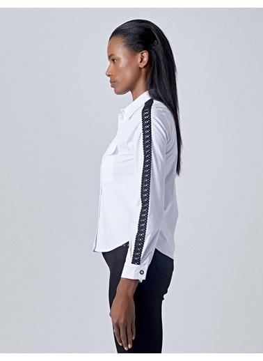 Huxel Gömlek Beyaz